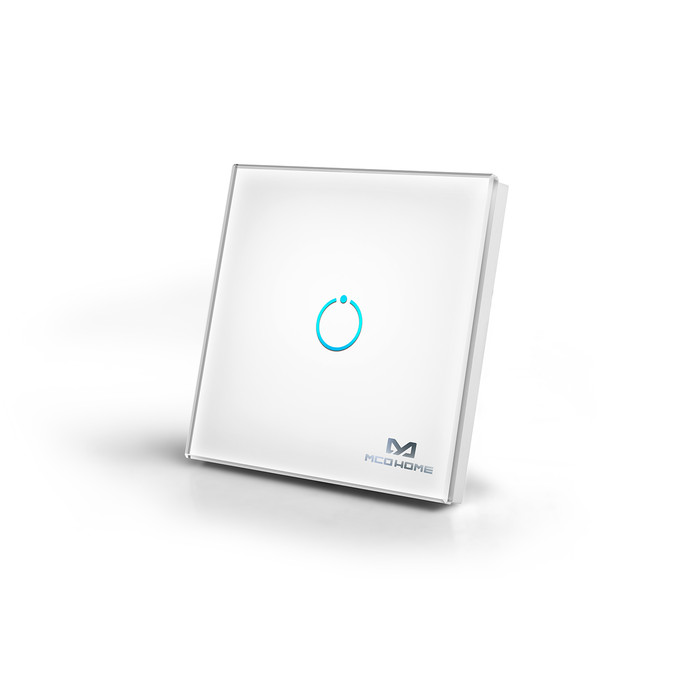 MCO Home Touch Panel Switch 1 (white) - 2