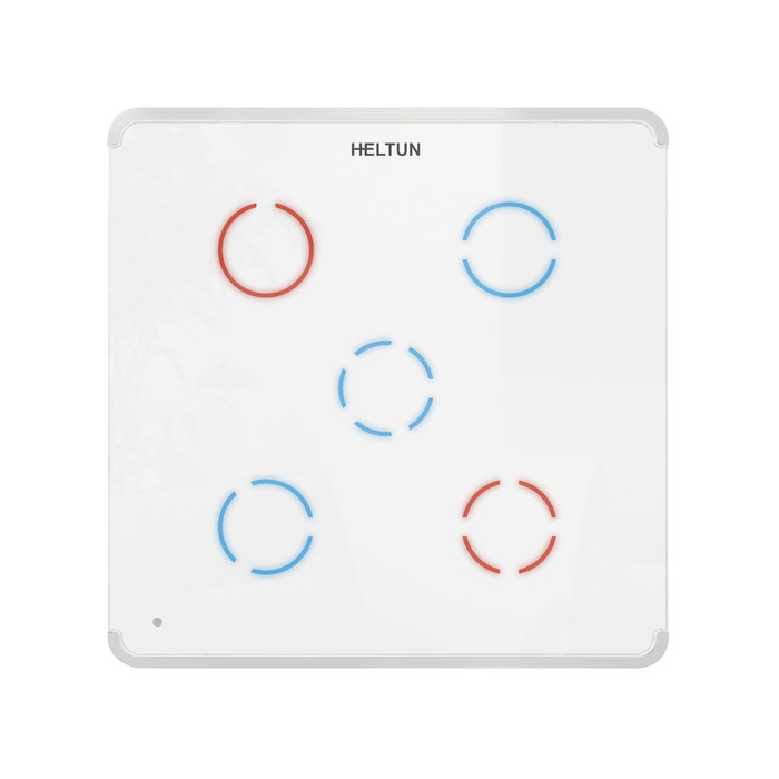 Heltun Touch Panel Switch Quinto (fehér-fehér)