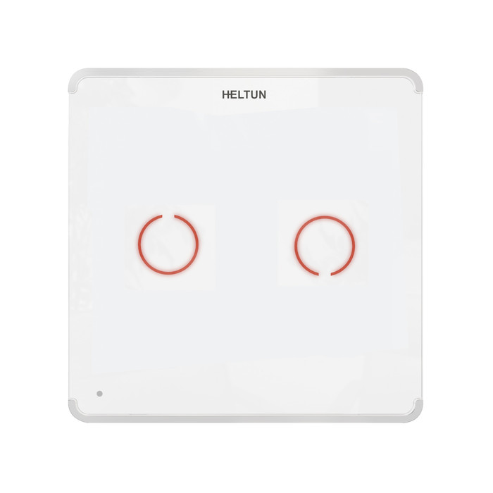 Heltun Touch Panel Switch Duo (fehér-fehér)