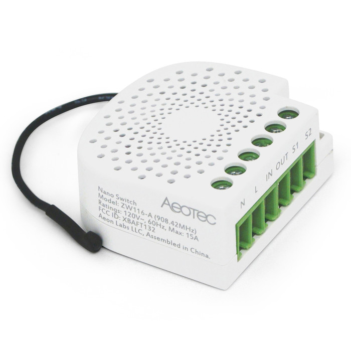 Aeotec Nano Switch with Power Metering (10A)